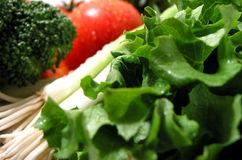 Verdure fresche rugiada